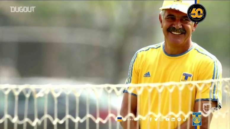Ricardo Ferretti soma dez títulos como técnico do Tigres. DUGOUT