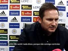 Lampard comenta mais uma derrota do Chelsea. DUGOUT