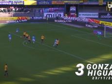 VIDÉO: TOP 3 buts Naples vs Hellas Vérone. Dugout
