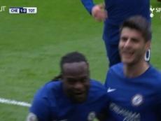 Résumé du Chelsea-Tottenham de la saison 2017/2018. DUGOUT