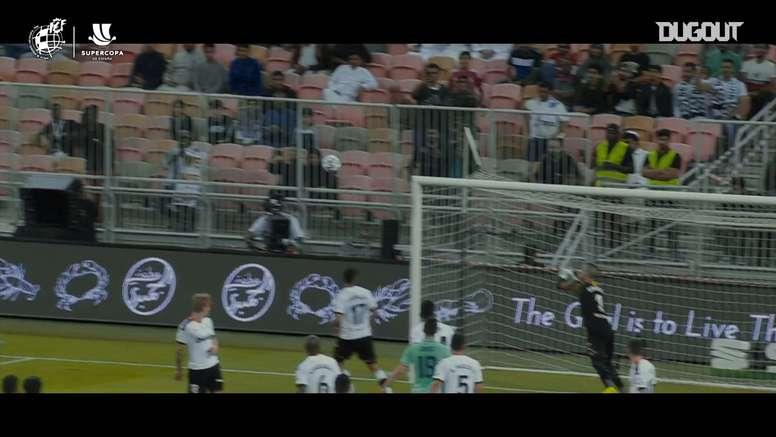 El gol olímpico de Kroos, de lo más interesante de la primera Supercopa de cuatro. DUGOUT