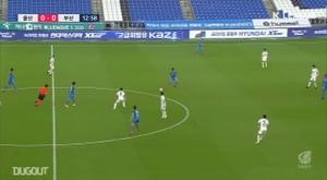 Júnior Negão garante o gol da sua equipe. DUGOUT