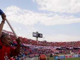 Independiente Medellín tme uma torcida poderosa. DUGOUT
