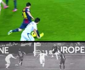 Assistências de Jordi Alba para Messi no Barcelona. DUGOUT