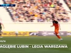 Melhores momentos de Piatek no Campeonato Polonês. DUGOUT