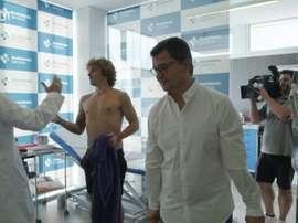 Griezmann completa uma temporada no gigante catalão. DUGOUT
