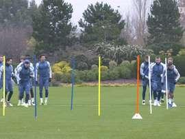El Tottenham ya prepara el duelo ante el Ludogorets. DUGOUT