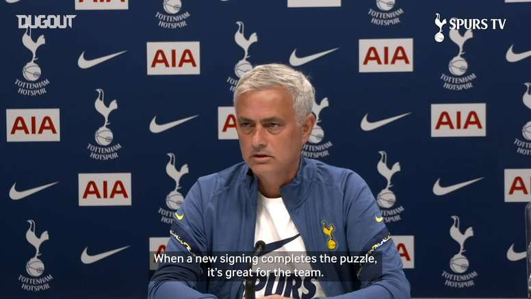 VIDEO: Mourinho gives his thought on the transfer window. DUGOUT