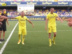 VIDEO: Villarreal pay homage to Cazorla and Bruno. DUGOUT