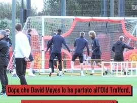 La carriera di Fellaini all'Old Trafford. Dugout