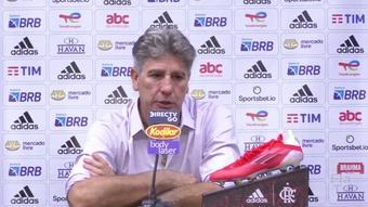 Renato elogia Andreas Pereira após estreia com gol no Flamengo. DUGOUT