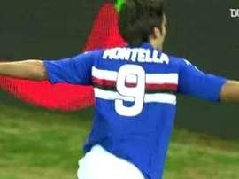 Montella's best moments for Sampdoria. DUGOUT