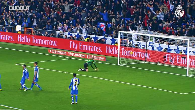 VIDEO: Relive Cristiano's strike against Espanyol. DUGOUT
