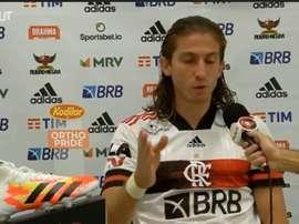 Filipe Luís comentou a segunda derrota seguida do Flamengo com o novo técnico. DUGOUT