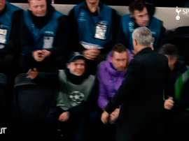 One year of José Mourinho at Tottenham Hotspur. DUGOUT