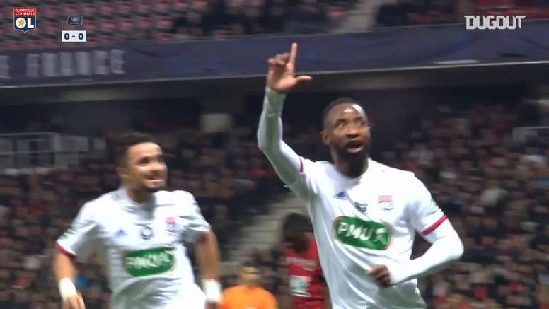 Lyon beat Nice 1-2 in a French Cup tie back in February. DUGOUT