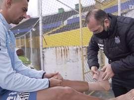 Santos finaliza preparação para o duelo contra a LDU. DUGOUT