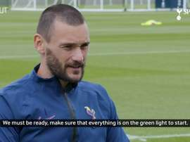 Lloris thinks Spurs can make the Champions League. DUGOUT