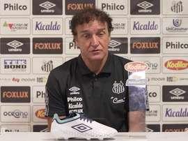 Cuca analisa derrota do Santos para o Fortaleza. DUGOUT