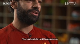 VIDEO: Salah's first ever interview as a Liverpool player. DUGOUT