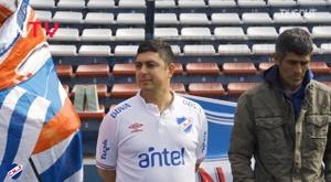A principios del siglo XX, Reyes apoyaba al club uruguayo en todos sus partidos. DUGOUT