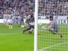 Buffon was in fine form for Juventus v Napoli in 2015. DUGOUT