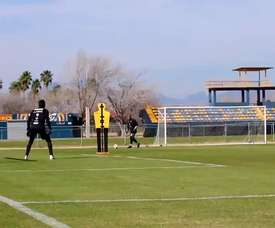 Amazing goals in Tigres training. DUGOUT