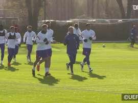 Chelsea faz último treino antes de encarar o Sevilla na Champions. DUGOUT