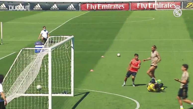 Real Madrid volta a campo nesta quinta-feira. DUGOUT