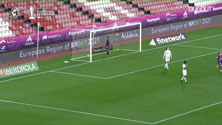 Esther y Andonova marcaron los otros dos goles. DUGOUT