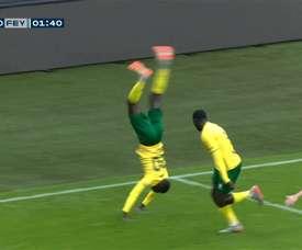 Fortuna Sittard shocked Feyenoord in the Eredivisie. DUGOUT