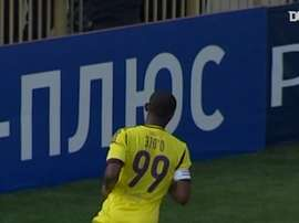 Eto'o spent time in Russia. DUGOUT