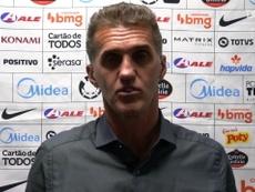Vagner Mancini falou com a imprensa após sua estreia. DUGOUT