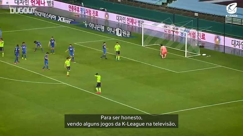 Gustagol fala das diferenças entre K-League e Brasileirão. DUGOUT