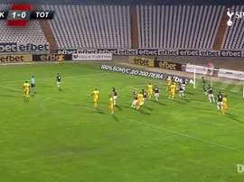Tottenham virou sobre o Lokomotiv Plovdiv e ganhou por 2 a 1. DUGOUT