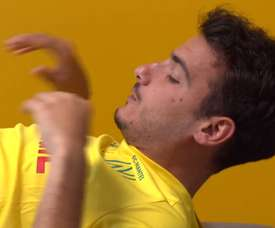 Pedro Chirivella's first day as FC Nantes player. DUGOUT