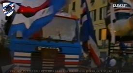 Sampdoria won their first ever Serie A. DUGOUT