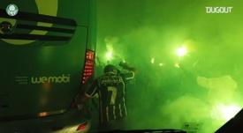 VÍDEO: así se vivió desde dentro el pase de Palmeiras a la final. DUGOUT