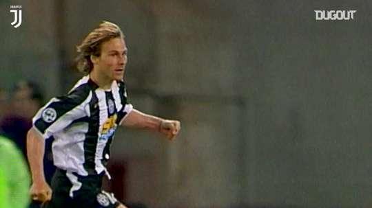Il goal di Nedved contro la Lazio. Dugout
