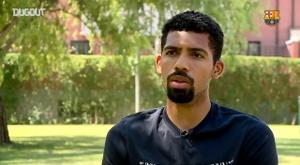 Matheus Fernandes se diz ansioso para dividir vestiário com estrelas do Barça. DUGOUT