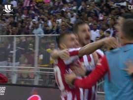 El Atleti superó al Barça en la semifinal de la Supercopa. DUGOUT