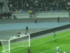 Ben Malango got a hat-trick for Raja CA away to Ittihad Tanger. DUGOUT
