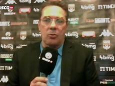 Luxemburgo analisa o empate do Vasco. DUGOUT