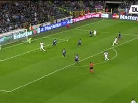 Le quadruplé d'Ibrahimovic contre Anderlecht. Dugout