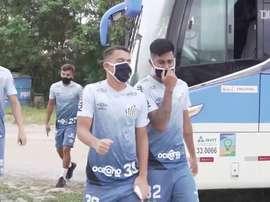 Santos inicia preparação visando duelo no Equador. DUGOUT