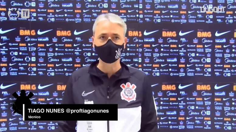 Técnico do Corinthians fala sobre a vitória na semifinal. DUGOUT