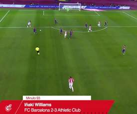 La prodezza di Williams contro il Barcellona. Dugout