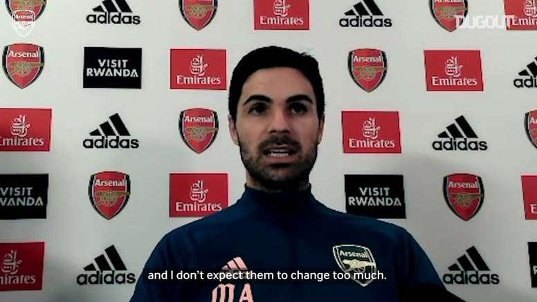Arteta previews Leeds and updates on Partey injury. DUGOUT