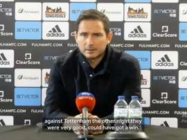 Lampard full of praise for Mount after Fulham win. DUGOUT