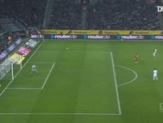 Florian Neuhaus scored from midfield for Gladbach v Mainz. DUGOUT